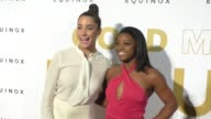 Simone Biles and Aly Raisman at the Gold Meets Golden Benefit at Equinox Sports Club West LA on January 07 2017 in Los Angeles California