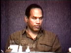 OJ Simpson's civil trial deposition 1007AM 2/27/96 Questions about OJ and Kato checking out the 'strange noises' he heard near Kato's air conditioner