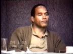 OJ Simpson's civil trial deposition 152PM 1/25/96 Petrocelli grills OJ on Nicole's list of physical abuse