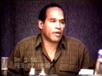 OJ Simpson's civil trial deposition 355PM 2/27/96 Questions about how OJ reacted to some of Nicole's actions