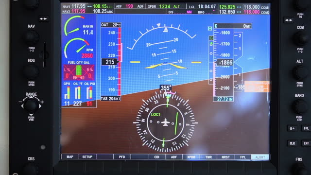 CU Simulated flights screen / Xi'an, shaanxi, China