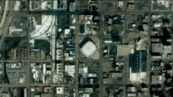T/L WS  ZO Simulated zoom out from Salt Lake City Olympic Village to Earth orbit, Salt Lake City, Utah, USA