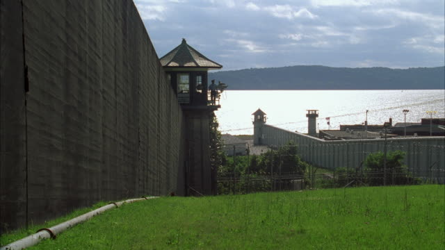 WS PAN Sing Sing prison complex bordering Hudson River / Ossining, New York, USA