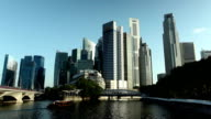 Singapore City Skyline Business District