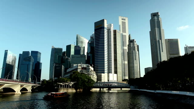 Singapore City Skyline Business District