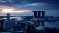 Singapore Sunrise Panorama