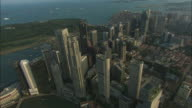 AERIAL, Singapore's Central Business District, Singapore