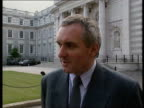 Sinn Fein ceasefire plea to IRA ITN EIRE Dublin Bertie Ahern intvw Procrastination delay fudging not way ahead/ must move ahead positively/ would...