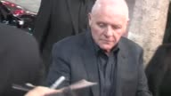 Sir Anthony Hopkins arrives at Thor After Party in Hollywood