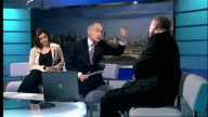 Sir Ian Blair resigns as Metropolitan Police Commissioner Ken Livingstone LIVE STUDIO interview SOT No systemic failure crime down by another 6 per...