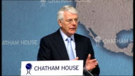 Sir John Major speech on the EU referendum government proposal None of the risks of separation mean the status quo is acceptable Nor does it mean...