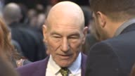 Sir Patrick Stewart at 'XMen' Premiere at Odeon Leicester Square on May 12 2014 in London England