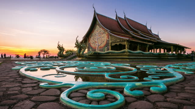 Sirindhorn Wararam Phu Prao Temple (Wat Phu Prao) at Ubon ratchathani province , Thailand