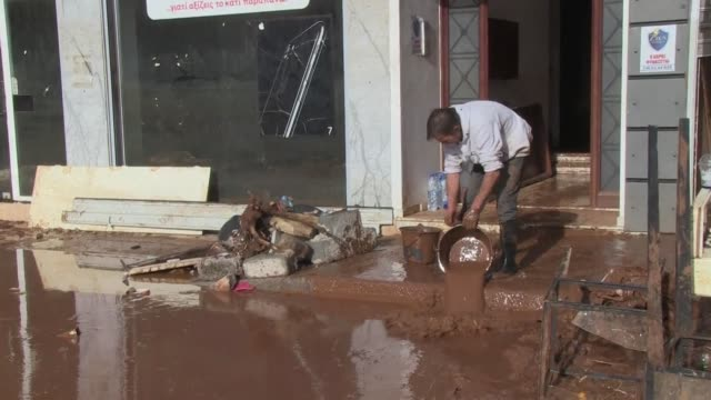 Six people are still missing in Greece after a flash flood killed 16 others near the capital with local communities facing food and medicine...