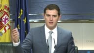Six weeks after Spains inconclusive general election the leader of the new centre right Ciudadanos party Albert Rivera urged parties to begin talks...