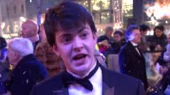 Skandar Keynes on the filming experience being drenched all the time at the The Chronicles of Narnia Voyage of the Dawn Treader 2010 Royal Film...