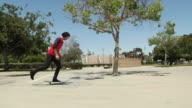 skateboard 360 flip große