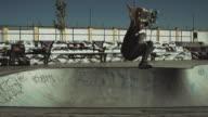 Skateboard Fall