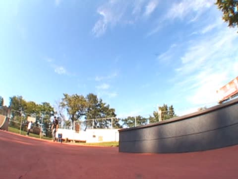 skateboarder K grind ledge