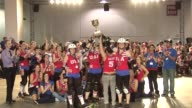 US skaters win the first World Cup roller derby in Toronto after defeating the Canadians in front of two thousand spectators Toronto Canada