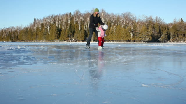 Skating on Lake