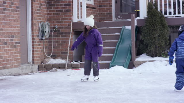 Skating on the Driveway