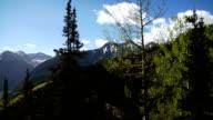 Ski Lift Down Mountain