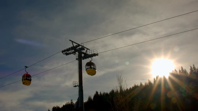 Skilift-Gondel