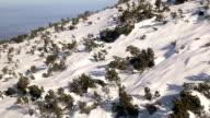 Ski lift,passenger's POV