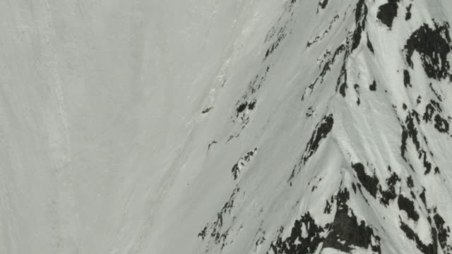 Skier hit by Avalanche