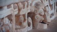 Skull at Ek Balam Mayan Ruins