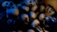 Skulls falling into a Pile (Loop between frames 643-843)