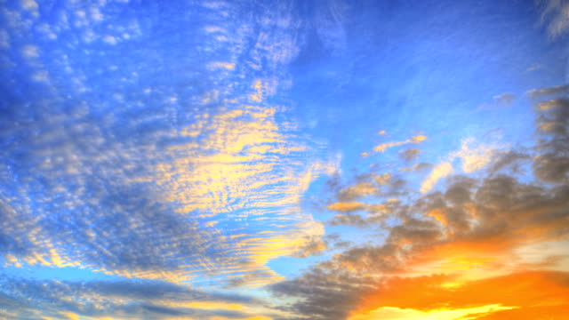 Sky at Sunset (HDR)