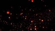 Sky Lanterna Festival tradizionale.