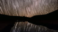 Sky Motion and Stars Reflection