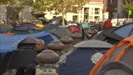 Sky News' Mark Stone reports on Anticapitalist protesters insisting they'll keep camping outside St Paul's Cathedral despite legal action to evict...