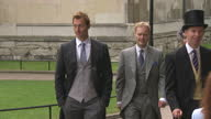 Sky News Royal Wedding Procession Footage on April 29 2011 in London England