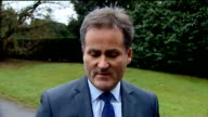 Sky Sports sexism row / Richard Keys resigns ENGLAND PHOTOGRAPHY **** Richard Keys speaking to press SOT Sorry you've had to wait so long to hear...