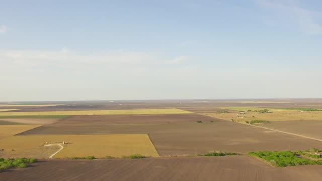 WS AERIAL TU sky to South Texas Plains / Texas, United States
