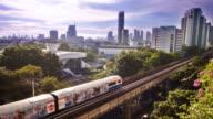 Sky train und der Stadt