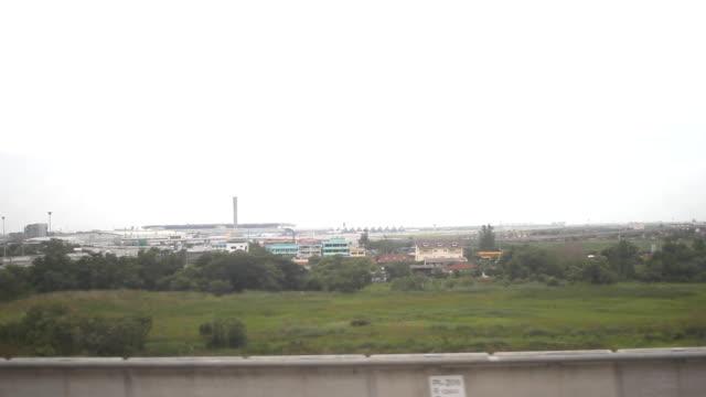 Sky train to Suvarnabhumi Airport .