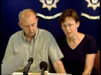 Parents appeal NEWS AT TEN U ENGLAND Hereford Mary Hilder press conference SOT We're living thru every parent's worst nightmare we're only here today...
