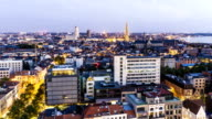 Skyline Antwerp, Time Lapse
