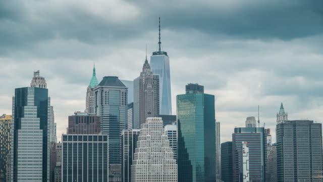 Skyline of downtown NYC
