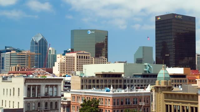 WS T/L Skyline of downtown San Diego / San Diego, California, USA