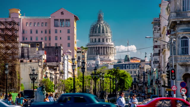 Skyline of Havana with Capitolio , Cuba