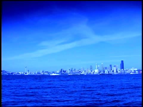 Skyline of Seattle, Washington