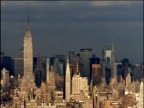 Skyline with Empire State Building in foreground and Chrysler Building in background Manhattan