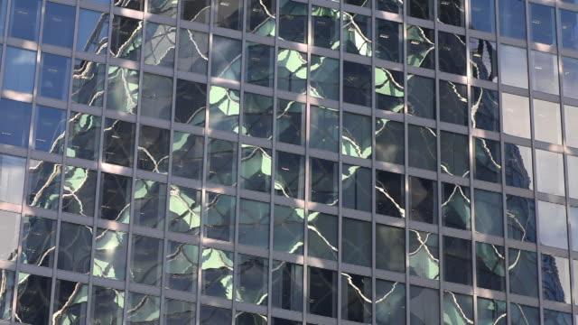 T/L Skyscraper Reflected In Glass Facade
