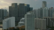 Skyscrapers And Highrises In Downtown Miami Florida